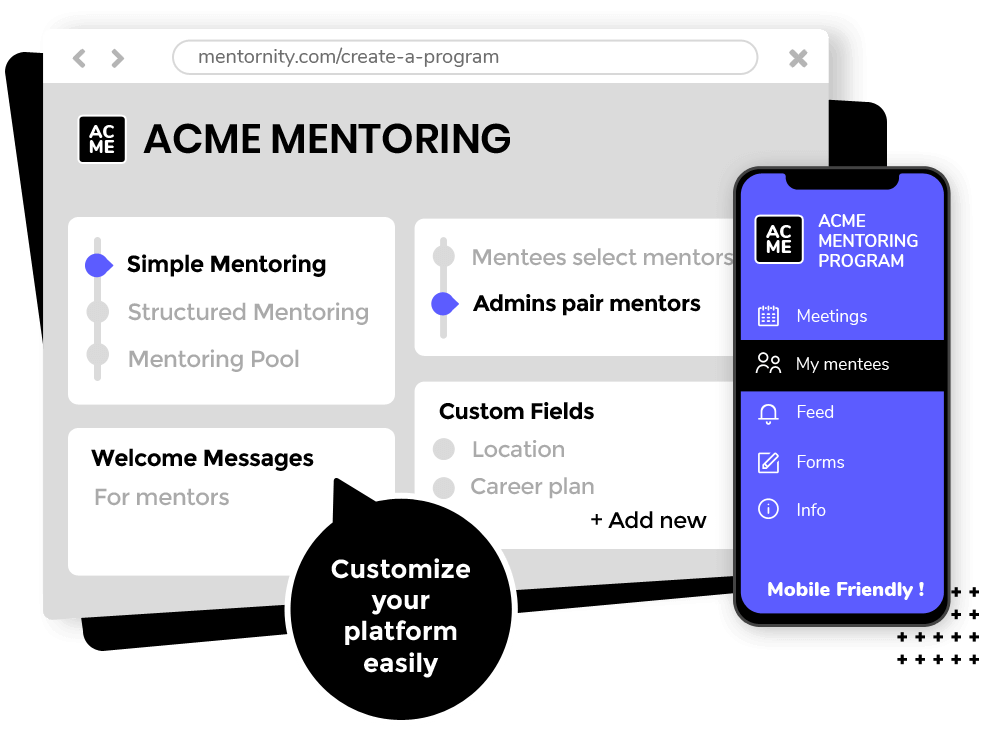 start corporate mentoring program